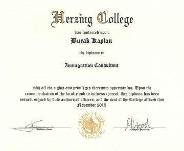 Herzing College Diploma