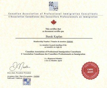 CAPIC Certificate